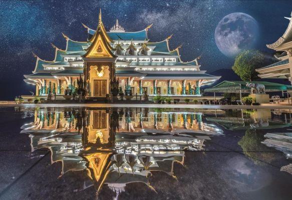 Wat Pa Phu Kon, Thailand
