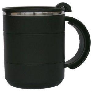 Evolite İçi Çelik Dışı Plastik Kupa Mug