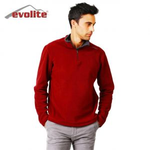 Evolite Fuga Bay Mikro Polar Sweater - Bordo