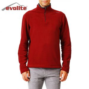 Evolite Fuga Bay Mikro Polar Sweater - Bordo