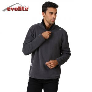 Evolite Fuga Bay Mikro Polar Sweater - Gri