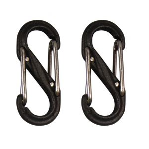 Nite-ize S-Biner Plastik Size 0 2Pack Black