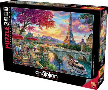 Anatolian Pariste Bahar 3000 Parça Puzzle - Yapboz