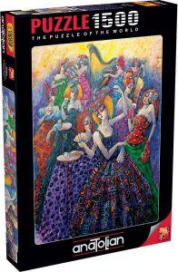 Anatolian Romantik Balo Romantic Ballroom 1500 Parça Puzzle - Yapboz