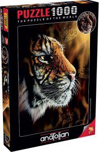 Anatolian Vahşi Kaplan/ Wild Tiger 1000 Parça Puzzle - Yapboz